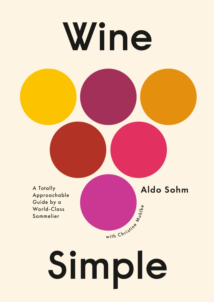 """Book cover of """"Wine Simple."""""""