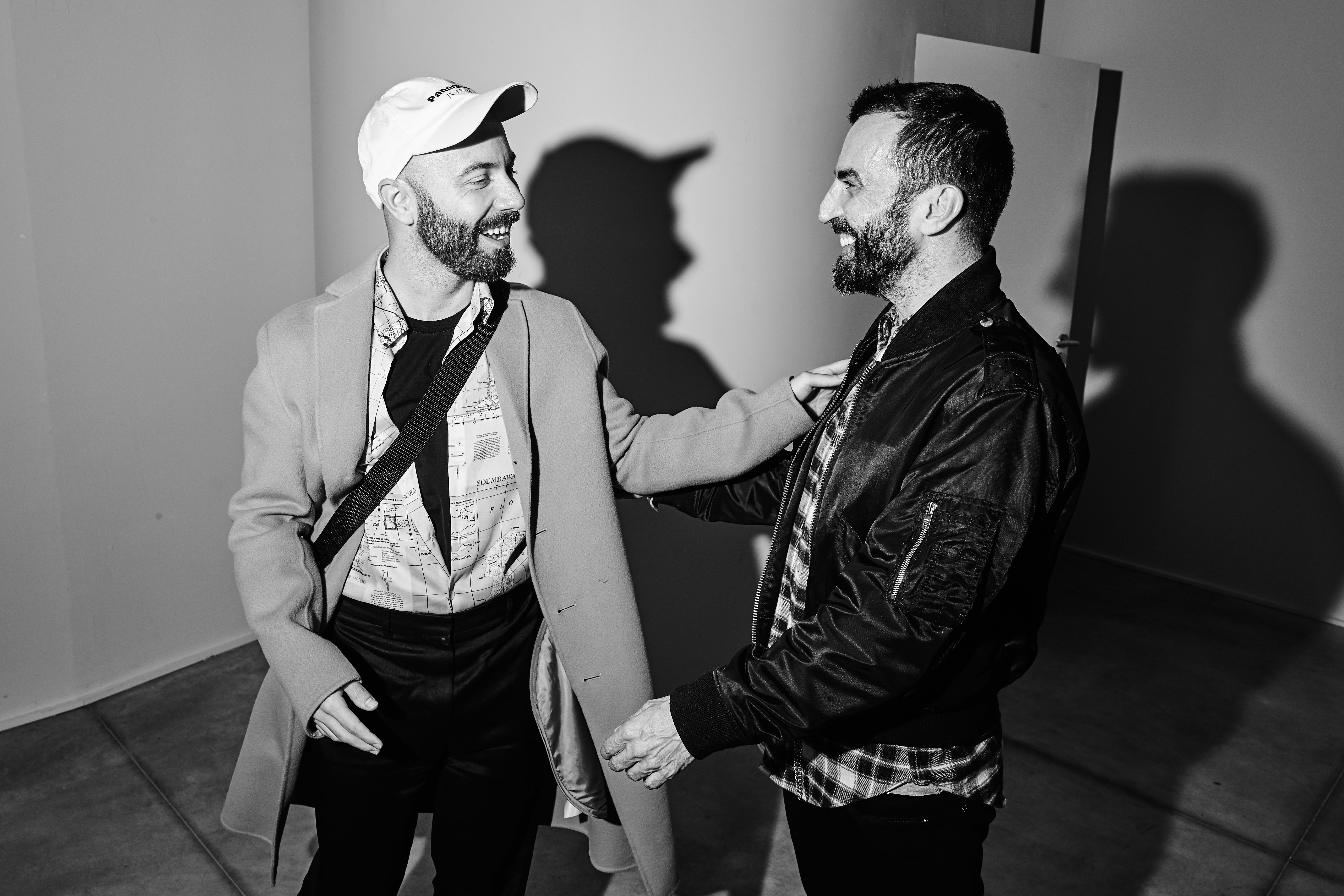 Woodkid and Nicolas Ghesquière