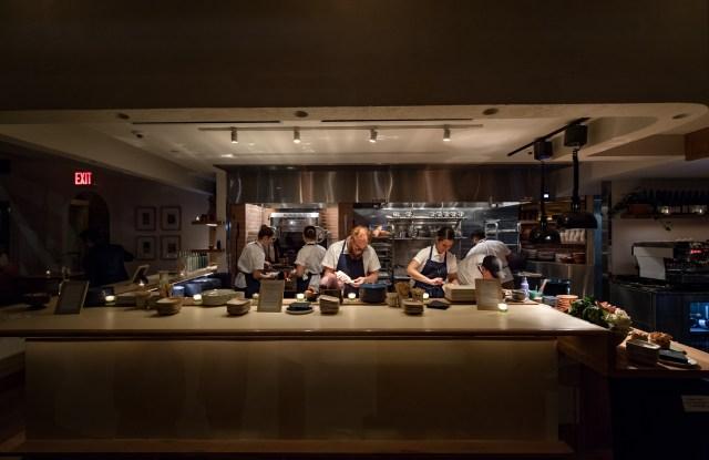 Inside 232 Bleecker restaurant