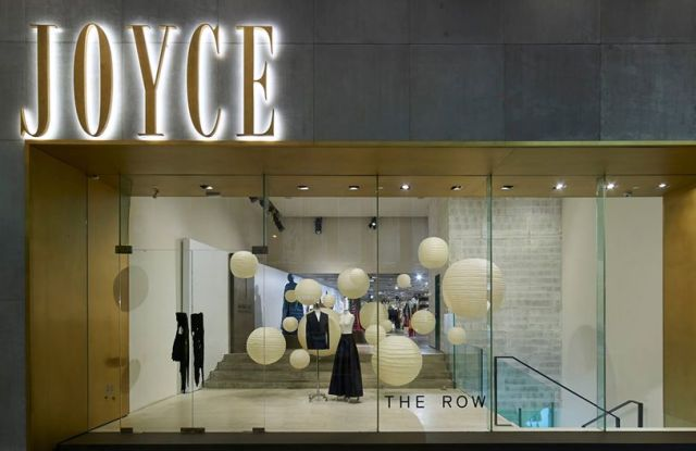 The Joyce flagship in Hong Kong.