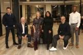 Michel Brousset, Andrew Morlet, Julietta Dexter, Samira Sohail, Daniel Marks and Fadzi Mkandla