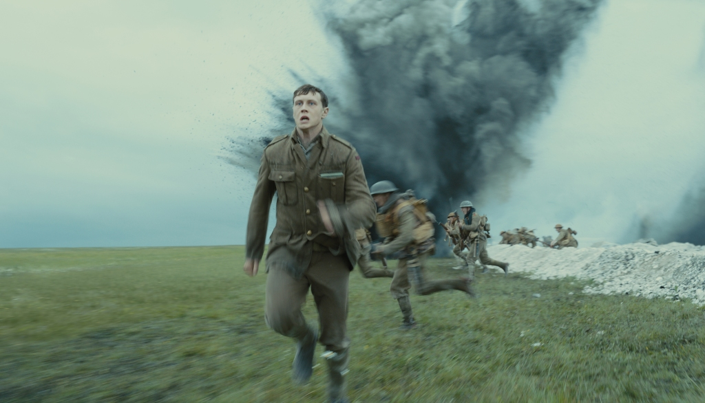"George MacKay as Schofield in ""1917,"" the new epic from Oscar®-winning filmmaker Sam Mendes."