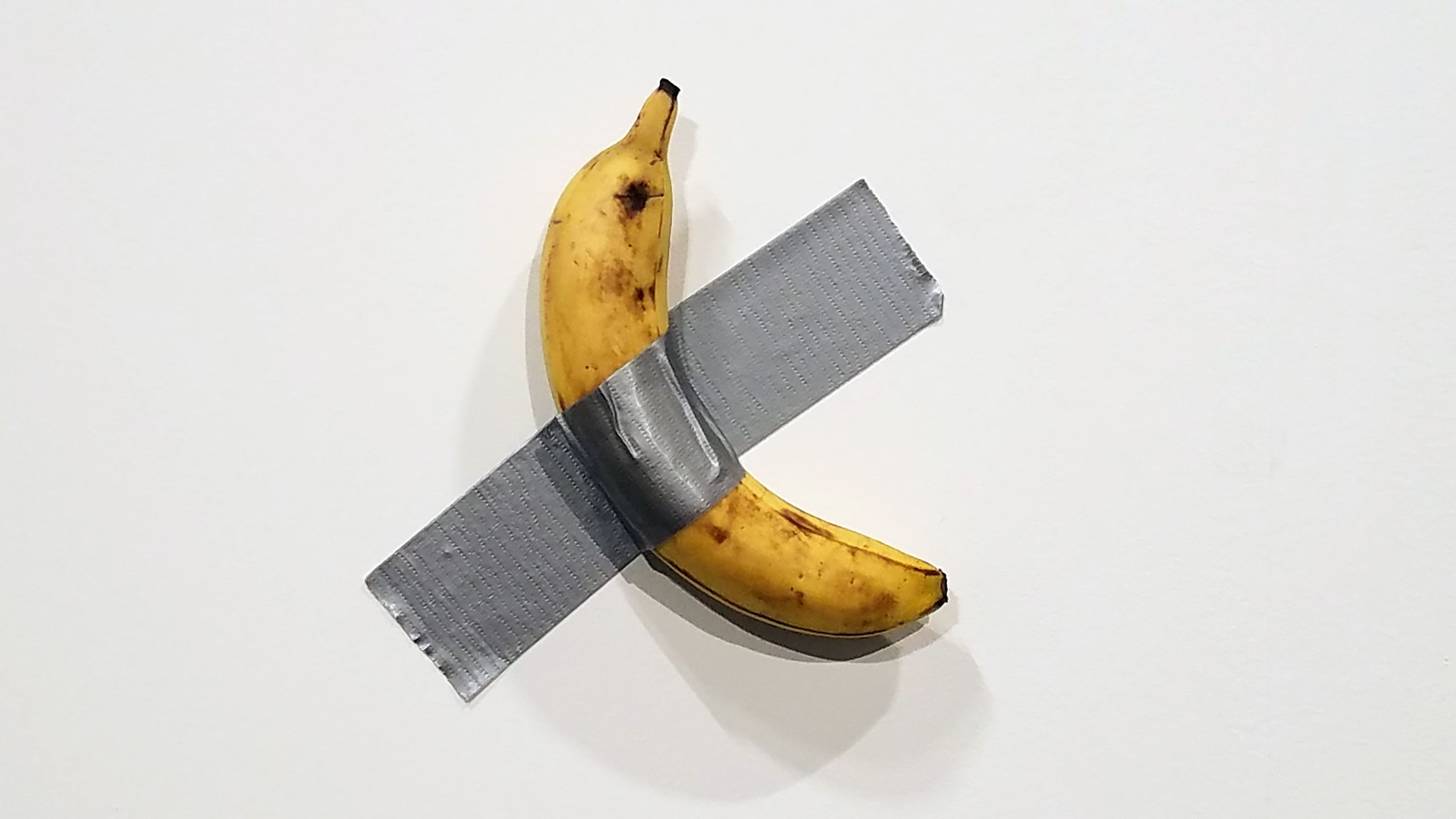 The $120,000 Art Basel Banana Gets the Meme Treatment