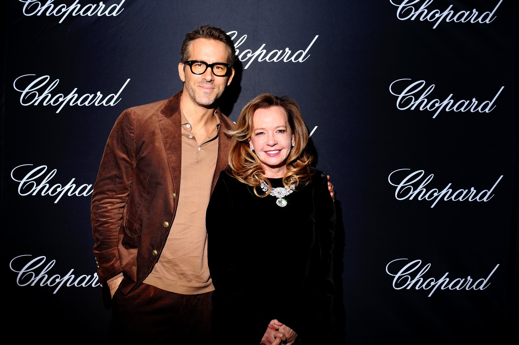Ryan Reynolds and Caroline Scheufele