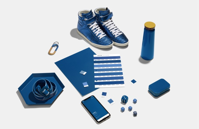 A sampling of items in Classic Blue, Pantone's 2020 Color of the Year.