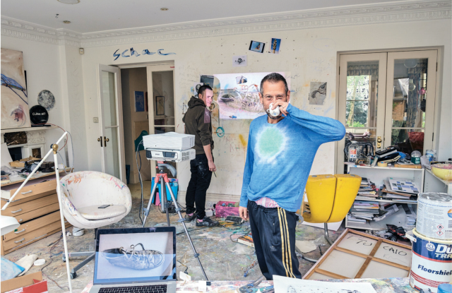 Kenny Schachter has a deep appreciation for art and sense of humor about the art world.
