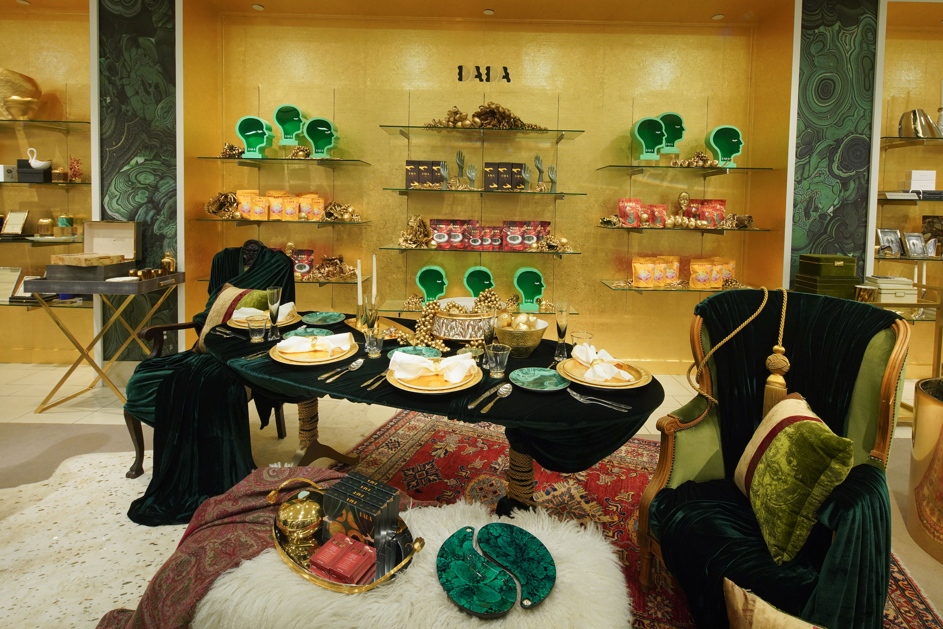The Dada Daily pop-up at the Saks Fifth Avenue Manhattan flagship.