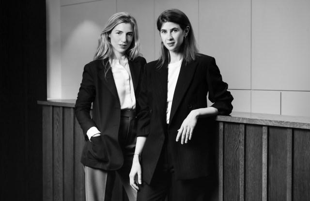 De Fursac creative director Alix Le Naour and ceo Elina Kousour