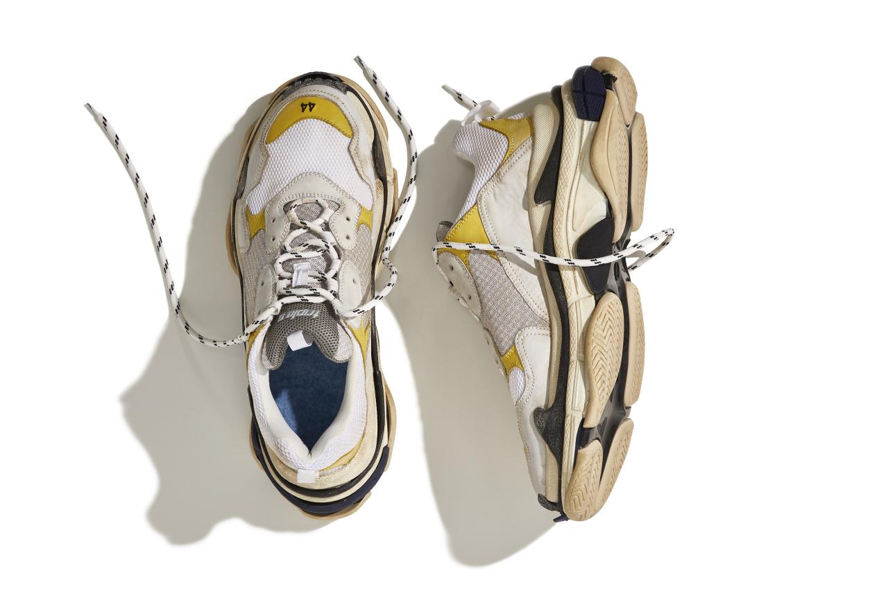The Balenciaga Triple S sneaker.