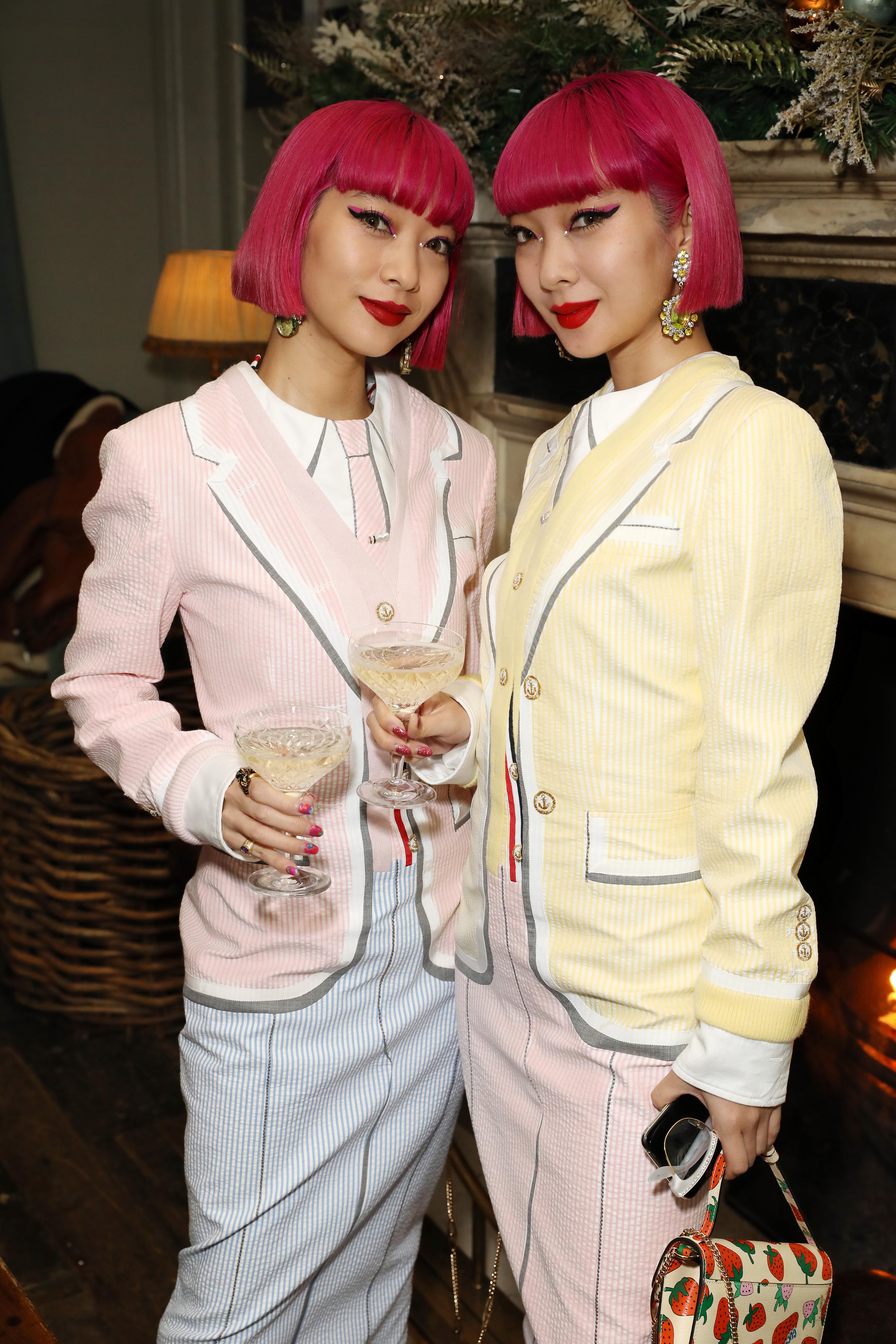 Japanese influencer Ami and Aya