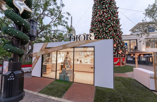 Dior pop-up at The Grove