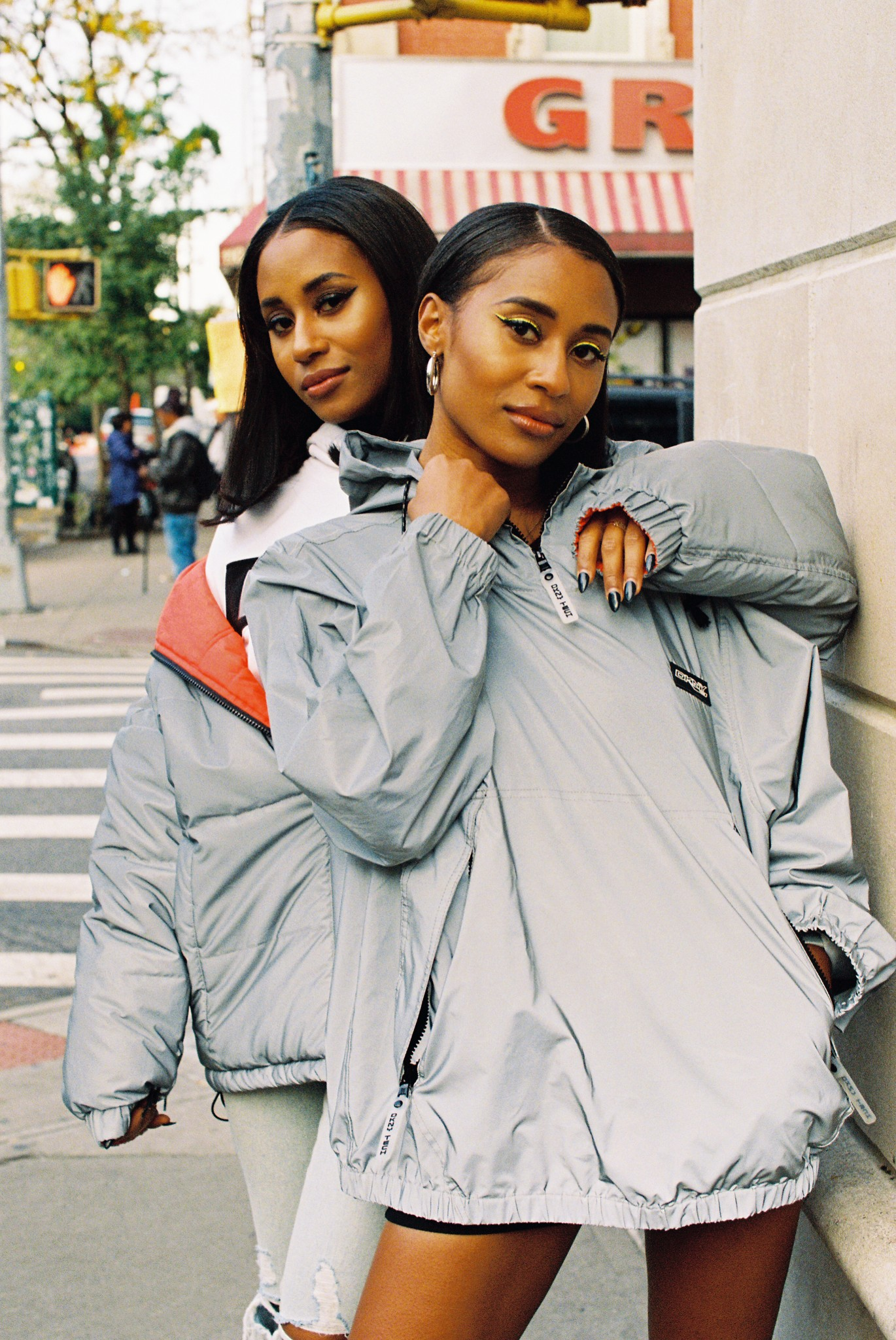 A look from DKNY Tech.