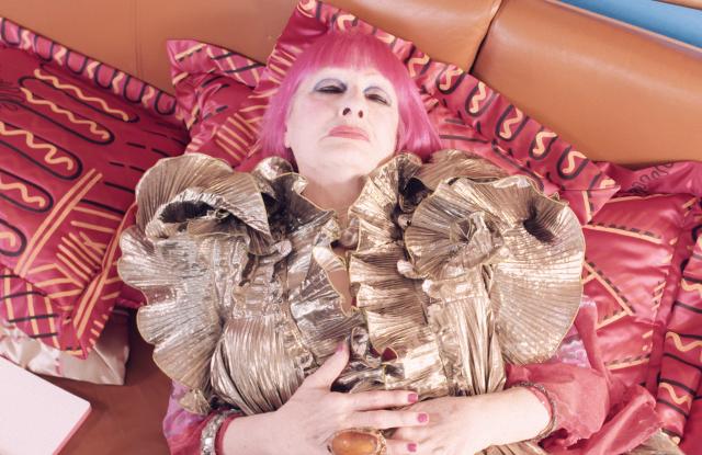 """Zandra Rhodes in the """"Dream Big"""" campaign"""