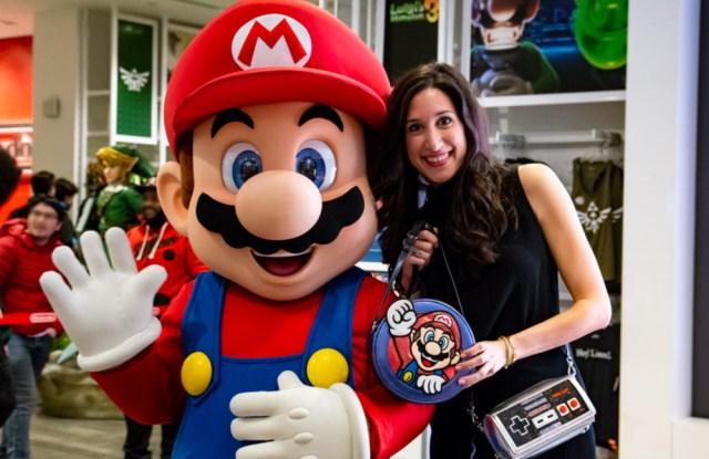 Danielle DiFerdinando with Mario.