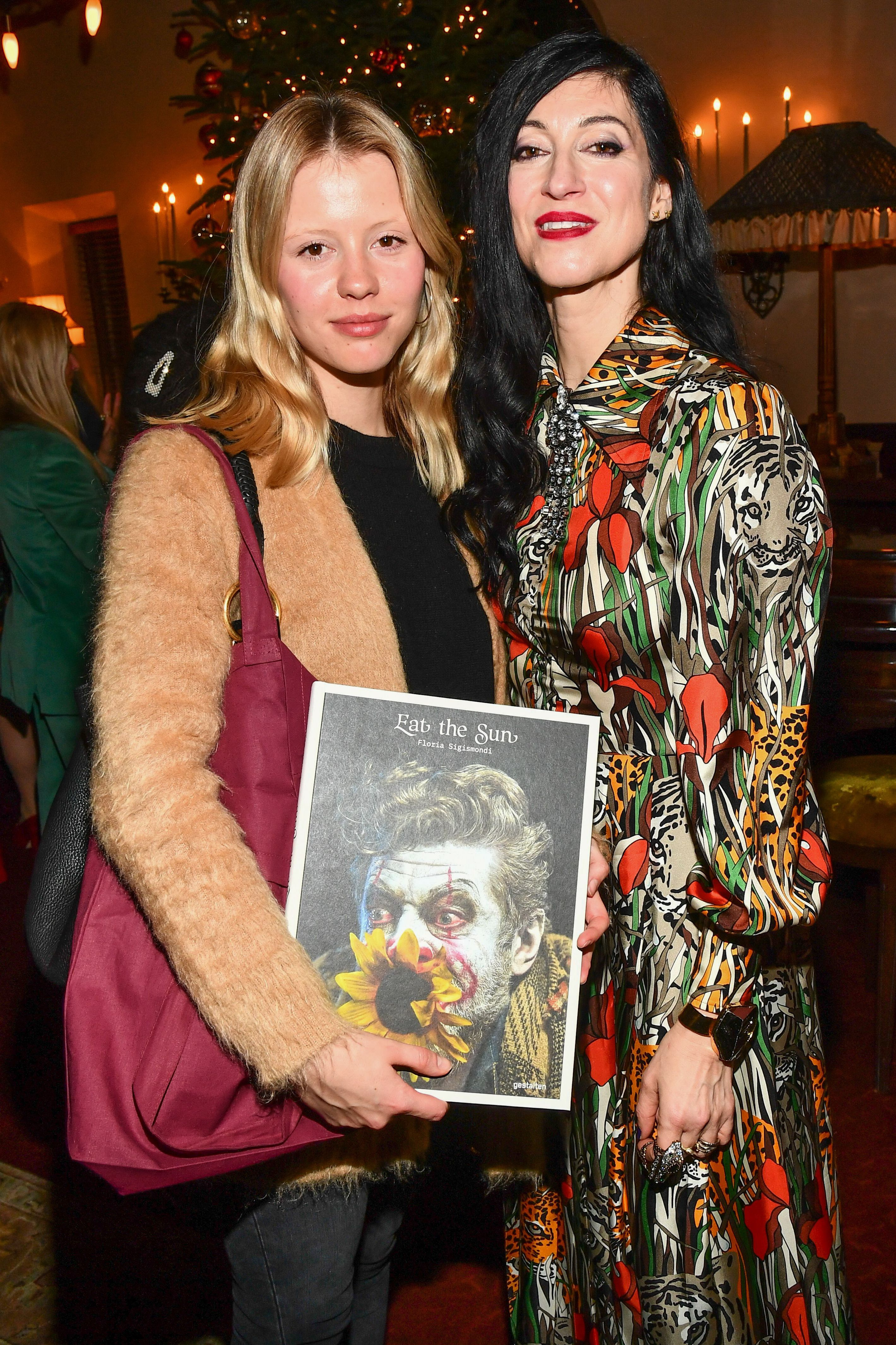 Mia Goth and Floria Sigismondi