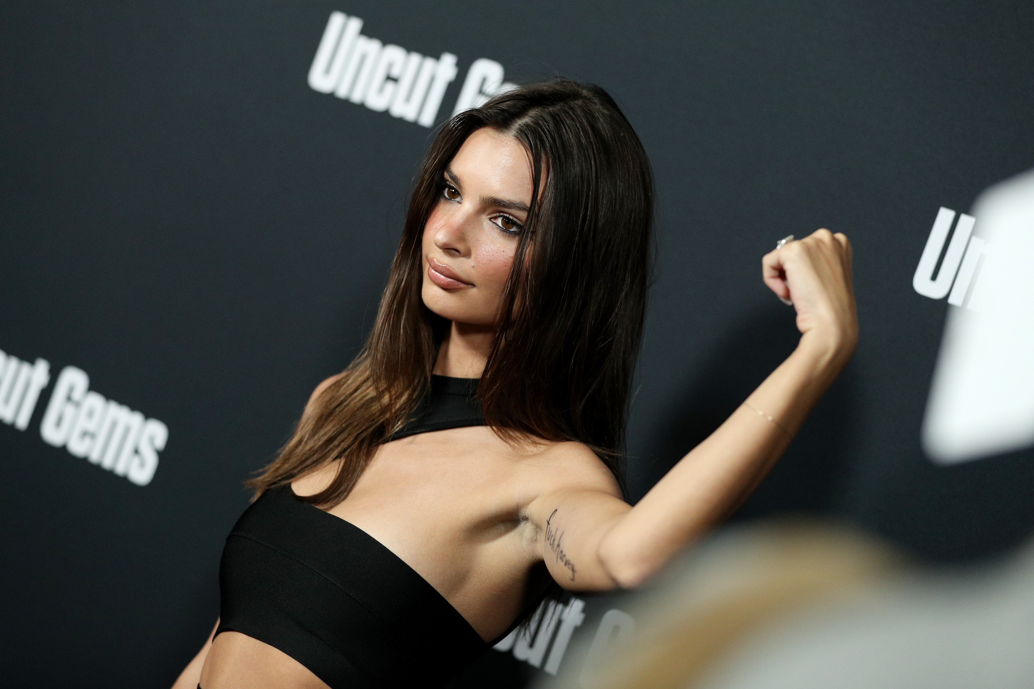 Emily Ratajkowski Has a Message for Harvey Weinstein