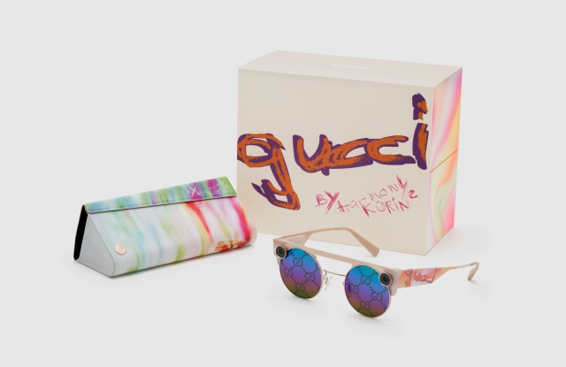 The new, limited-edition Gucci-designed Spectacles 3.