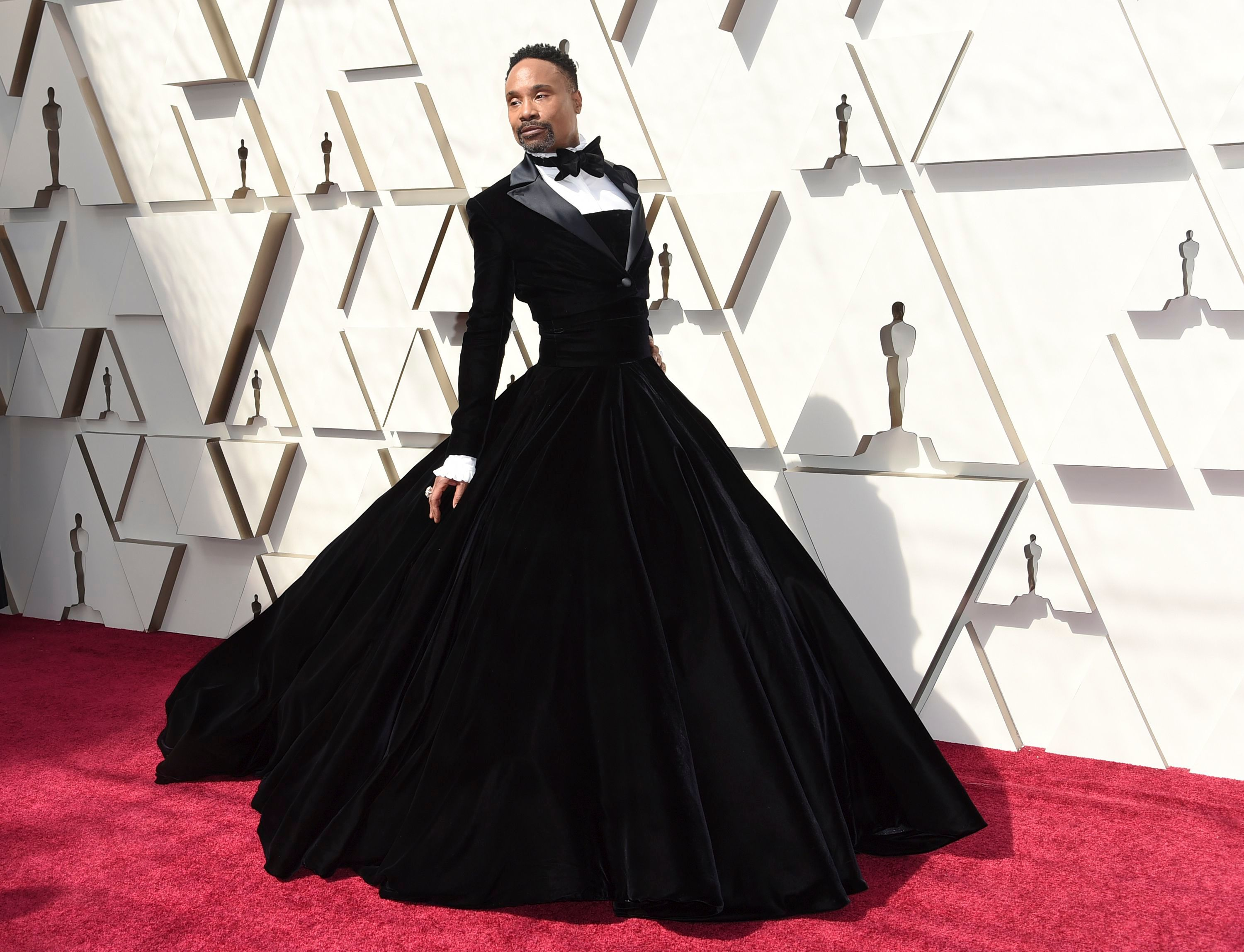 Billy Porter arrives at the Oscars, at the Dolby Theatre in Los Angeles91st Academy Awards - Arrivals, Los Angeles, USA - 24 Feb 2019