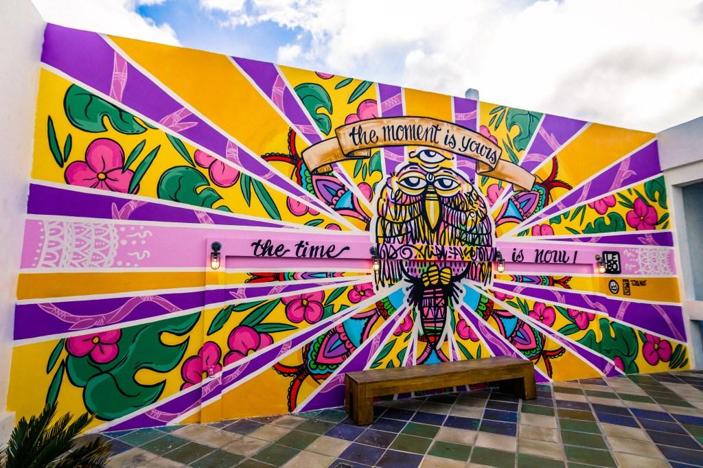 Labo's mural at The Confidante.