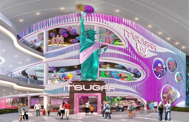 """When it comes to """"experiential,"""" American Dream is raising the bar. Its Sugar, a candy department store, recently opened at the 3.3 million-square-food entertainment and retail city in the New Jersey Meadowlands."""
