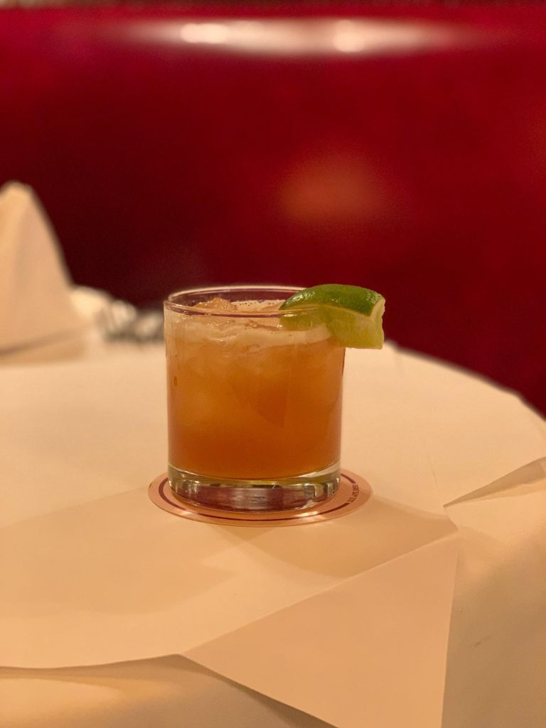 Jasper's Punch at Minetta Tavern