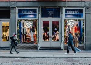 The new store is located in the heart of SoHo.