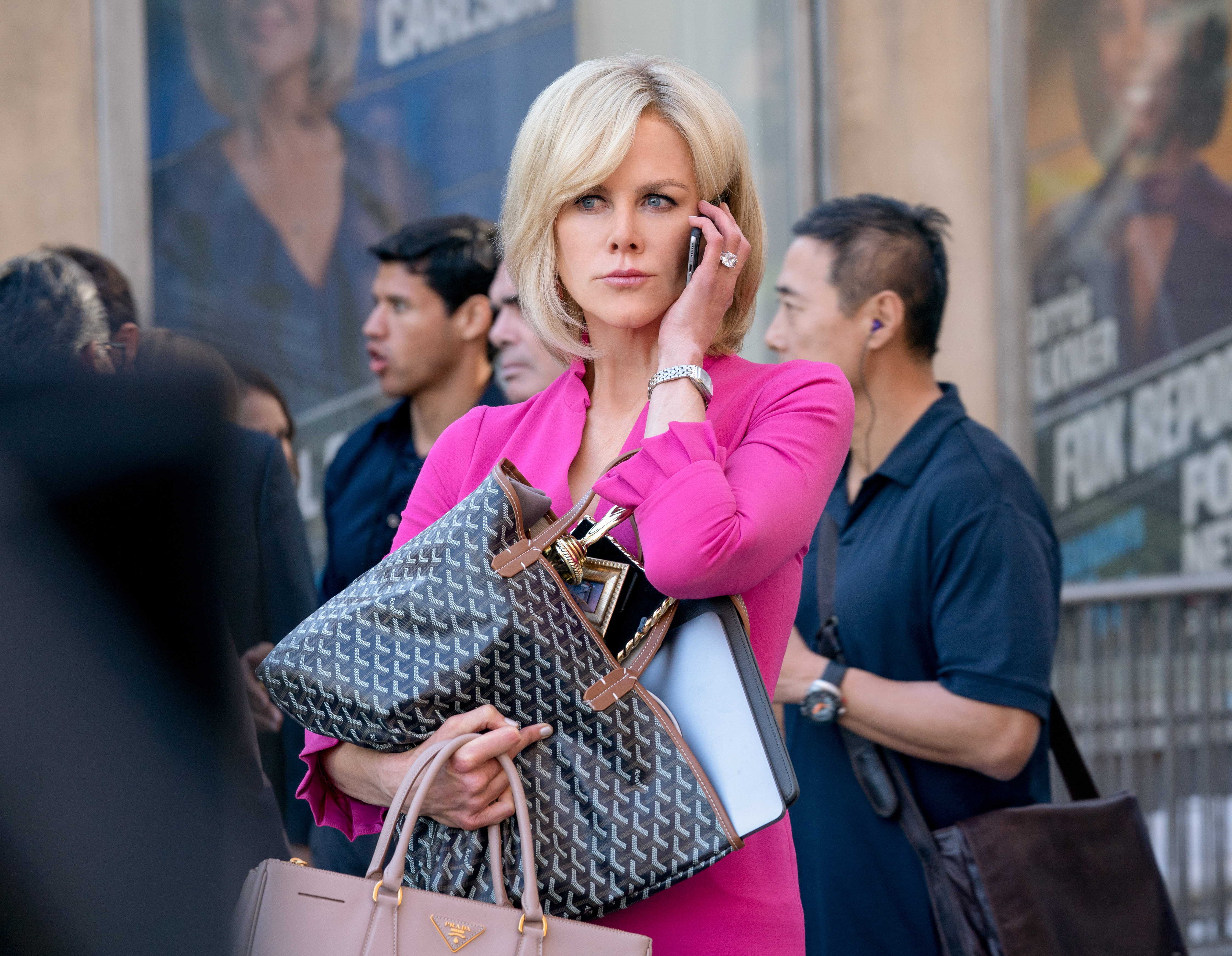 Nicole Kidman stars as 'Gretchen Carlson' in BOMBSHELL. Photo Credit: Hilary Bronwyn Gayle.