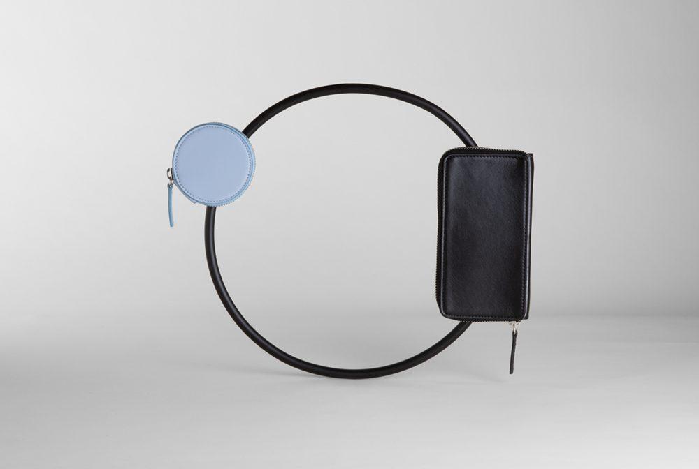 The Minima Hula Hoop bag created by Leonardo Talarico for the Up To You Anthology e-commerce platform.