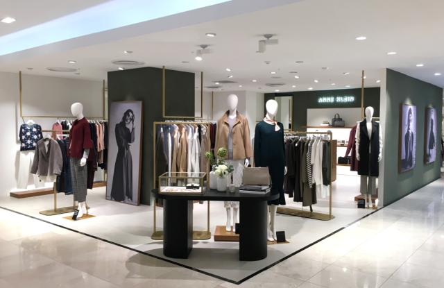A concept shop that was launched in Lotte Seomyeon, South Korea, which will be replicated in Mexico for shop-in-shops at department stores in addition to freestanding stores.