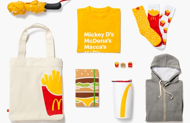 McDonald's Fashion Collection for the Holidays: See Photos – WWD