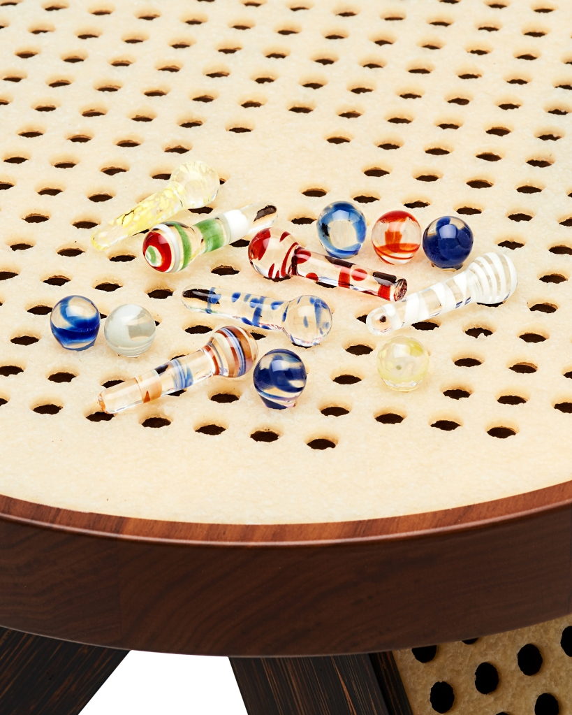 Detail of the M/Marbles Stool.