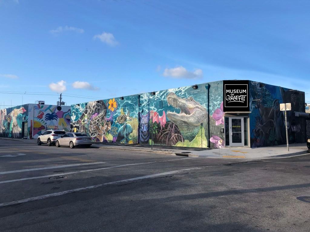Museum of Graffiti in Wynwood.