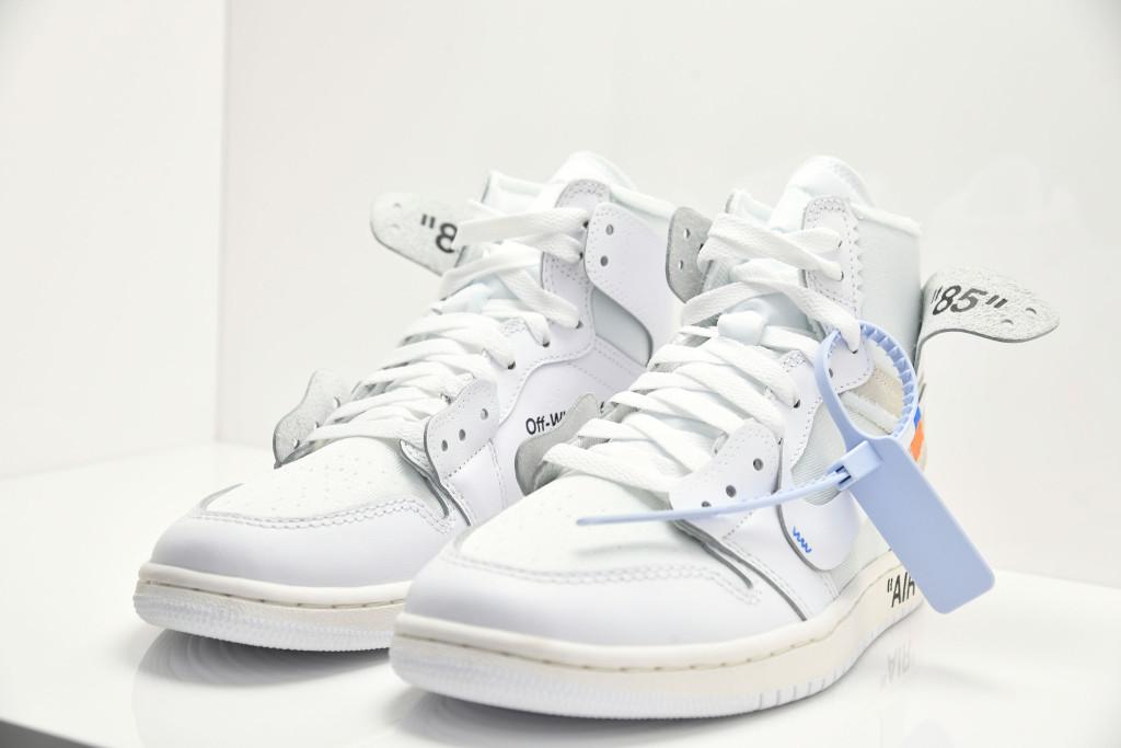 A Nike x Virgil Abloh sneaker.