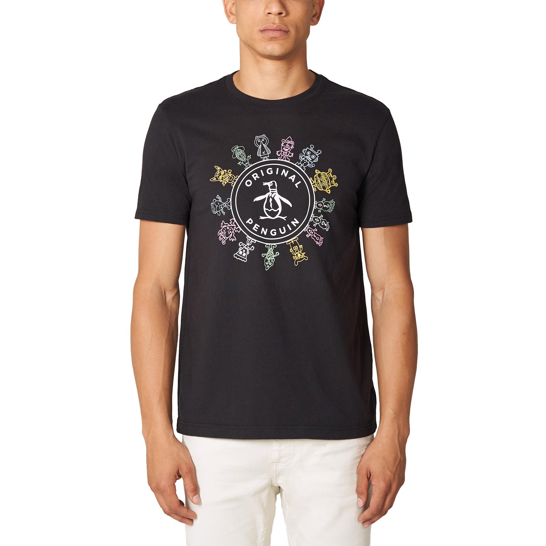 The Original Penguin T-shirts for Art Basel.