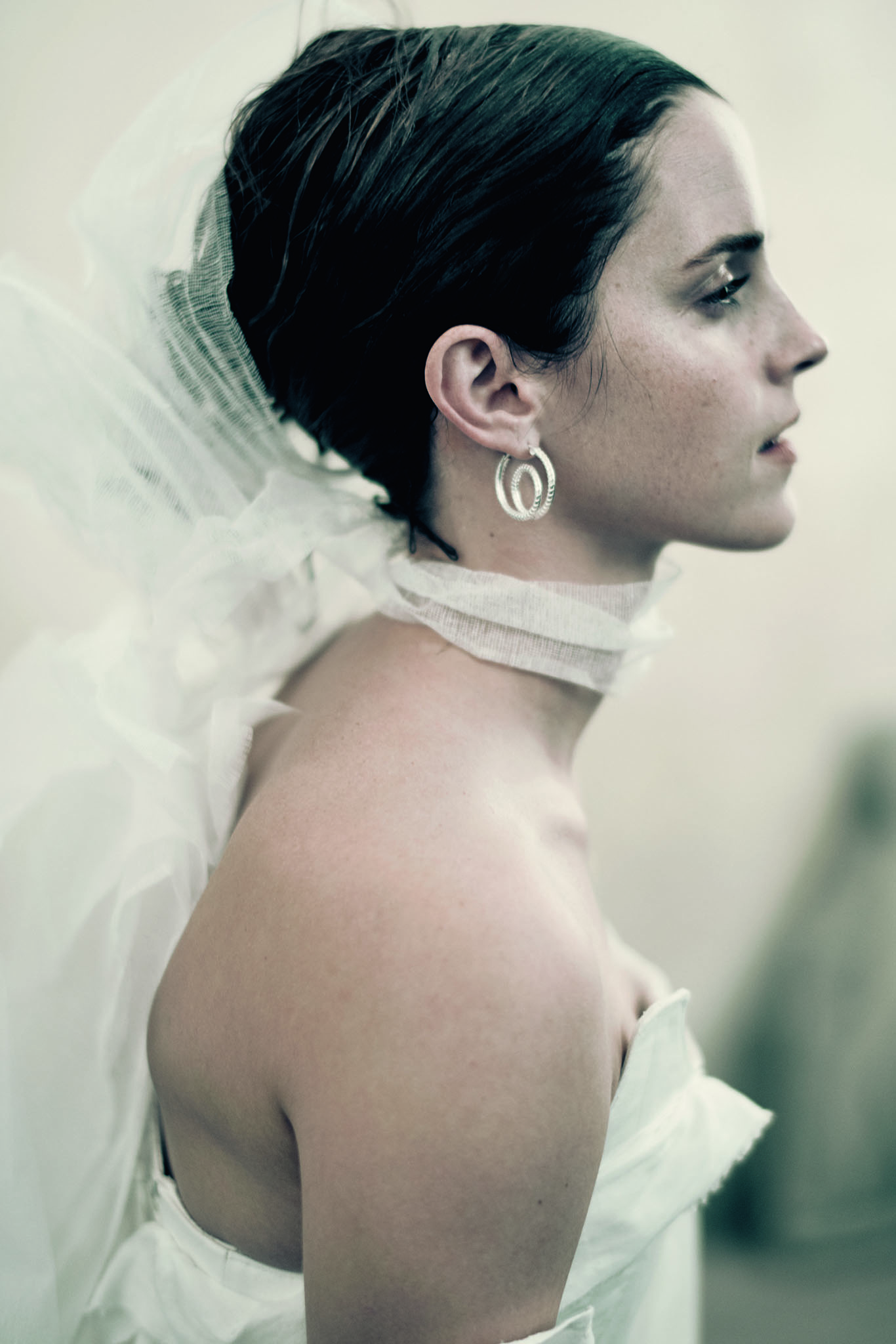 Emma Watson in the Pirelli 2020 calendar, shot by Paolo Roversi.