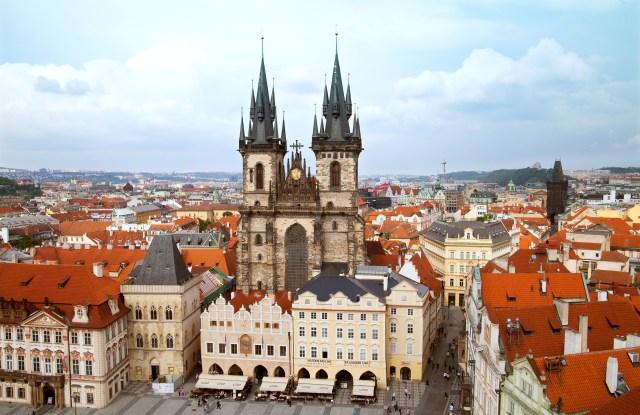 Prague Old Town Square.