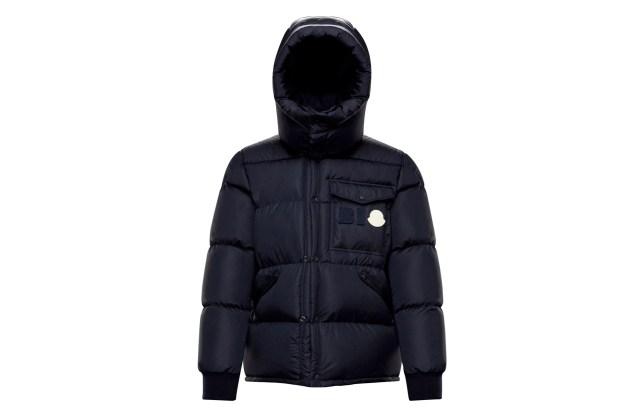 Moncler's bio-based down jacket.