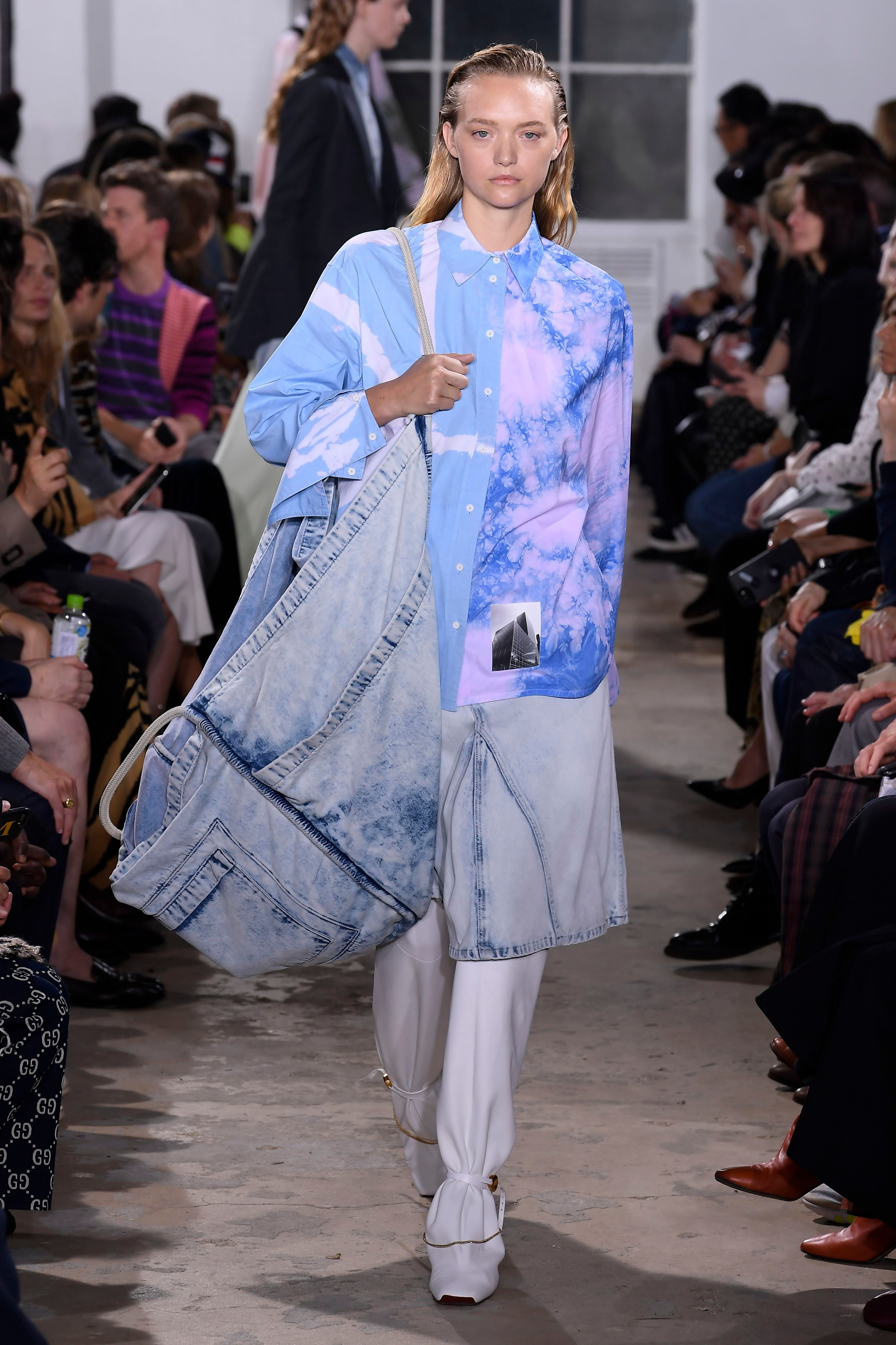 Born of necessity, the controversial denim focus of spring 2019 punctuated Proenza Schouler's return to New York and telegraphed its designers' rededication to American fashion.