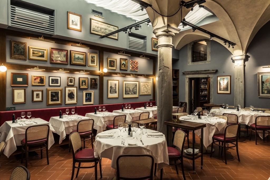 The Regina Bistecca restaurant in Florence.