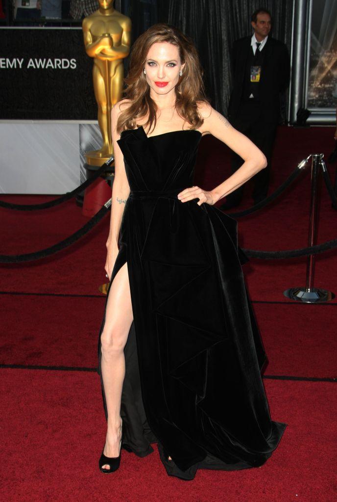 Angelina Jolie84th Annual Academy Awards, Arrivals, Los Angeles, America - 26 Feb 2012