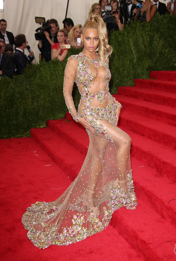 Beyonce KnowlesCostume Institute Gala Benefit celebrating China: Through the Looking Glass, Metropolitan Museum of Art, New York, America - 04 May 2015