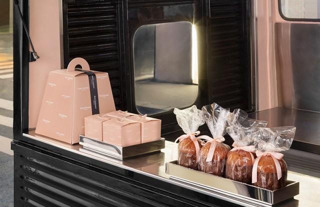 The Sant Ambroeus food truck at Saint Laurent Rive Droite