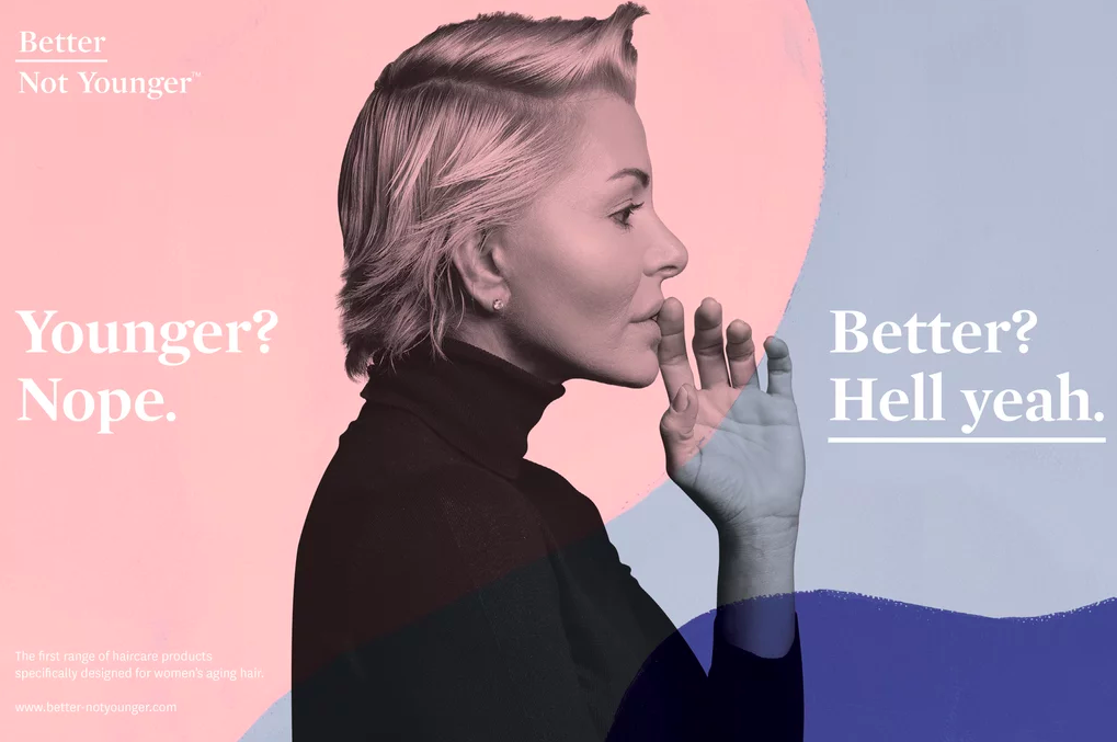 Better Not Younger beauty campaign for Sephora
