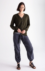 A women's look from Paskho.