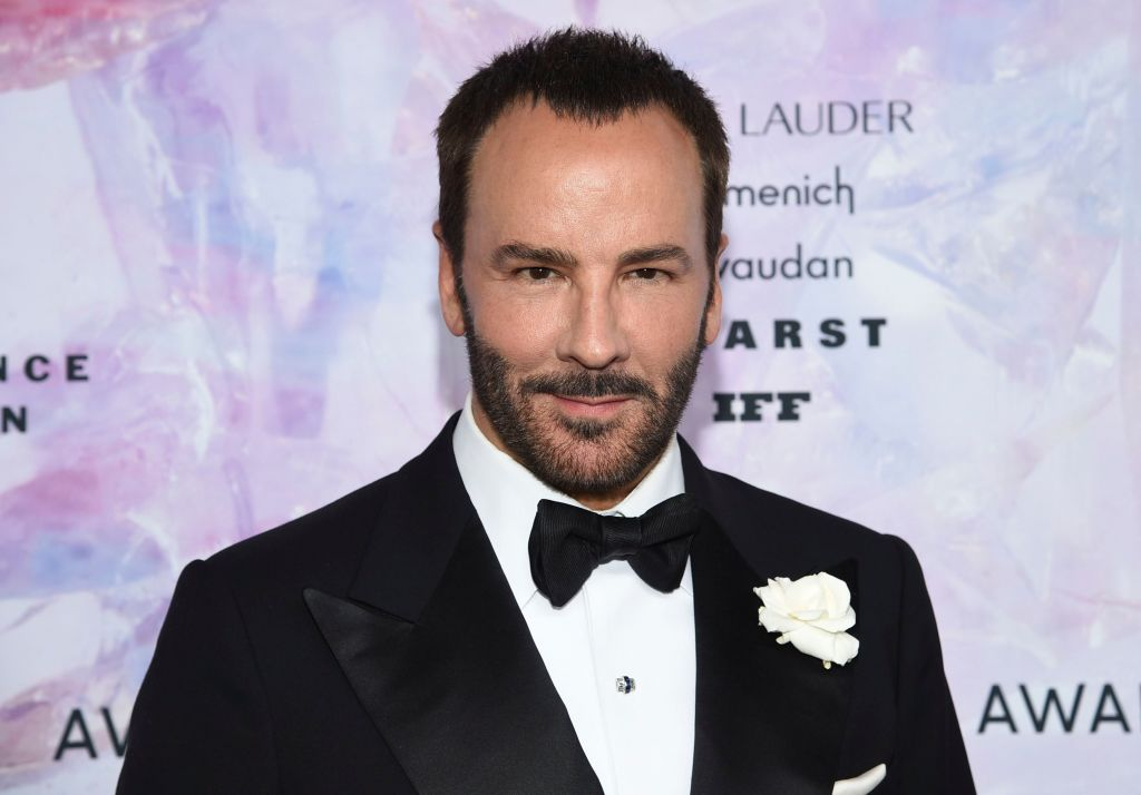 Designer and hall of fame award honoree Tom Ford attends the Fragrance Foundation Awards at the David H. Koch Theater at Lincoln Center, in New York2019 Fragrance Foundation Awards, New York, USA - 05 Jun 2019