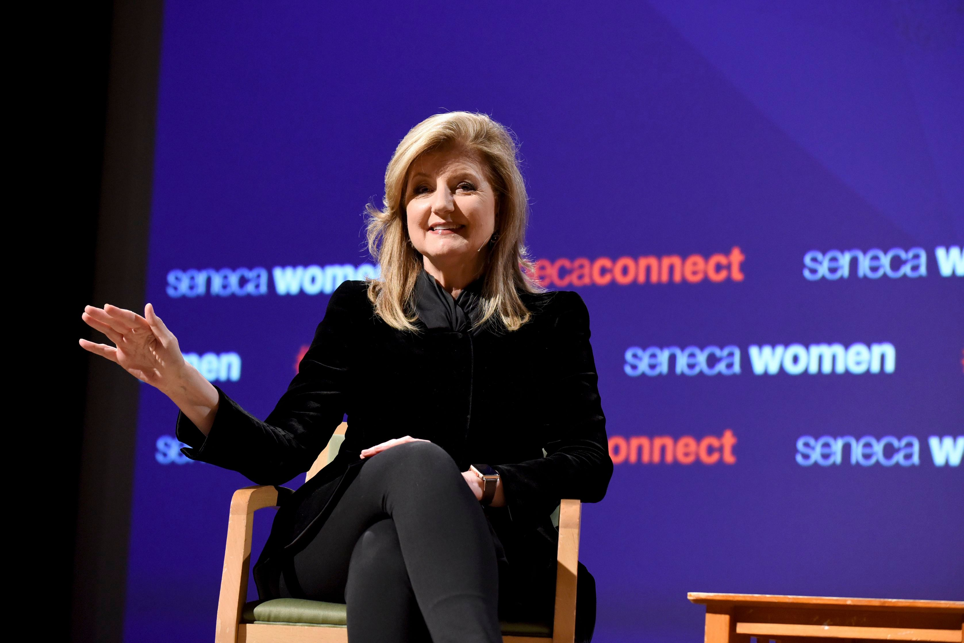 Arianna Huffington, Founder and CEO, Thrive Global, in September.