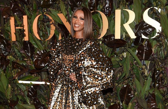 Iman attends the fourth annual Women's