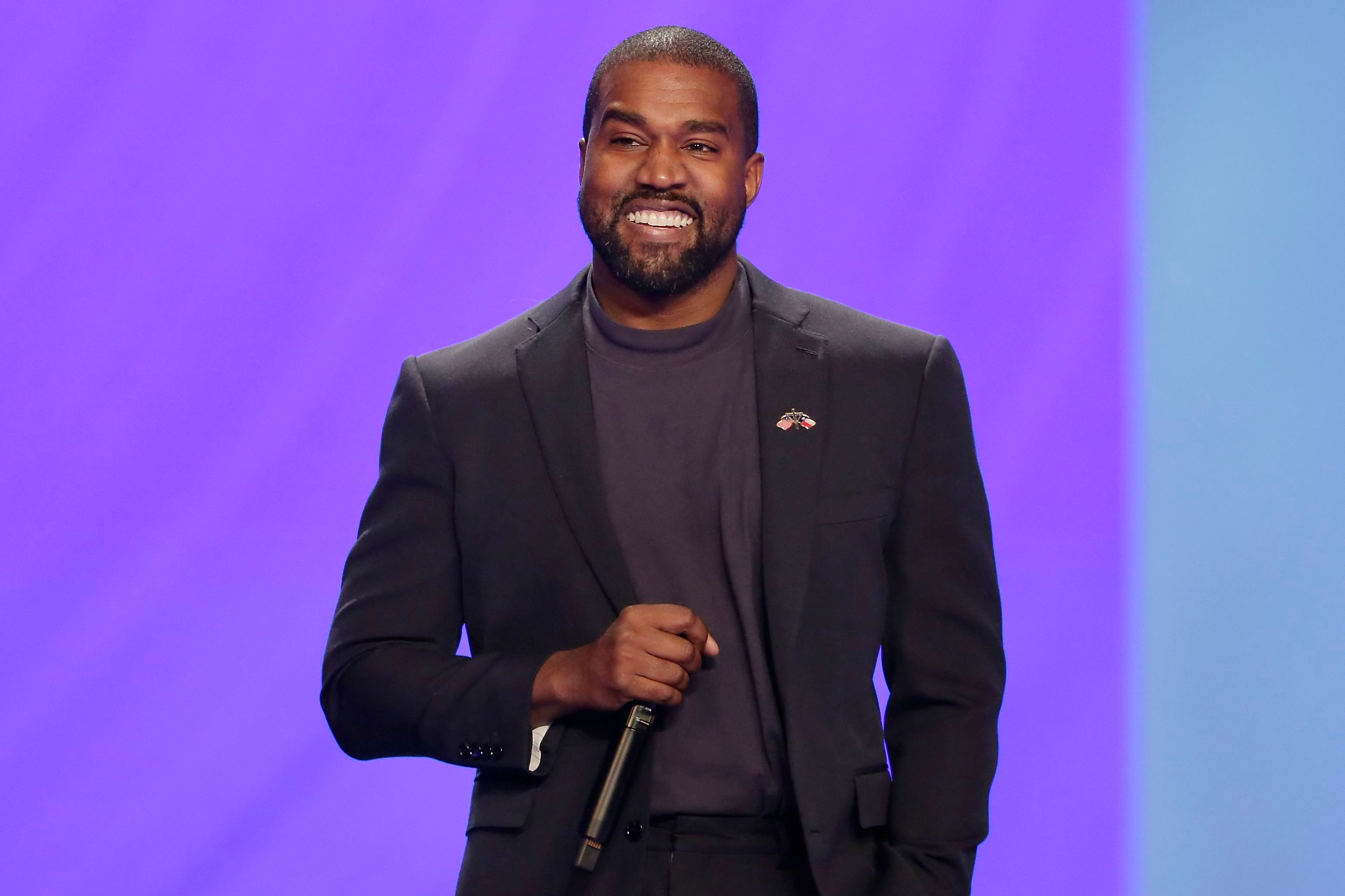Kanye West answers questions from Sr. pastor Joel Osteen during the 11 am service at Lakewood Church, in HoustonPeople Kanye West Joel Osteen, Houston, USA - 17 Nov 2019
