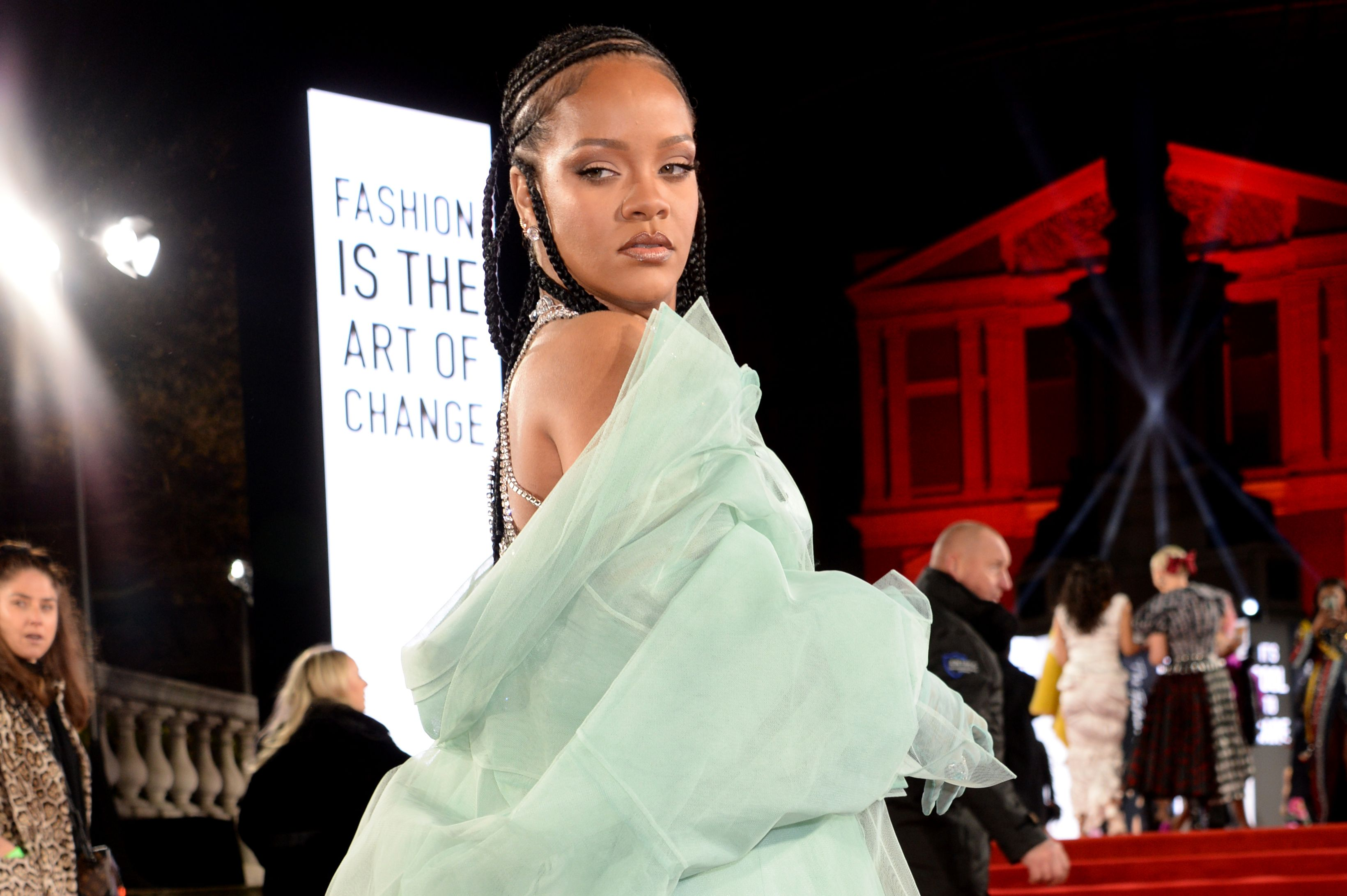 RihannaThe Fashion Awards, Arrivals, Royal Albert Hall, London, UK - 02 Dec 2019