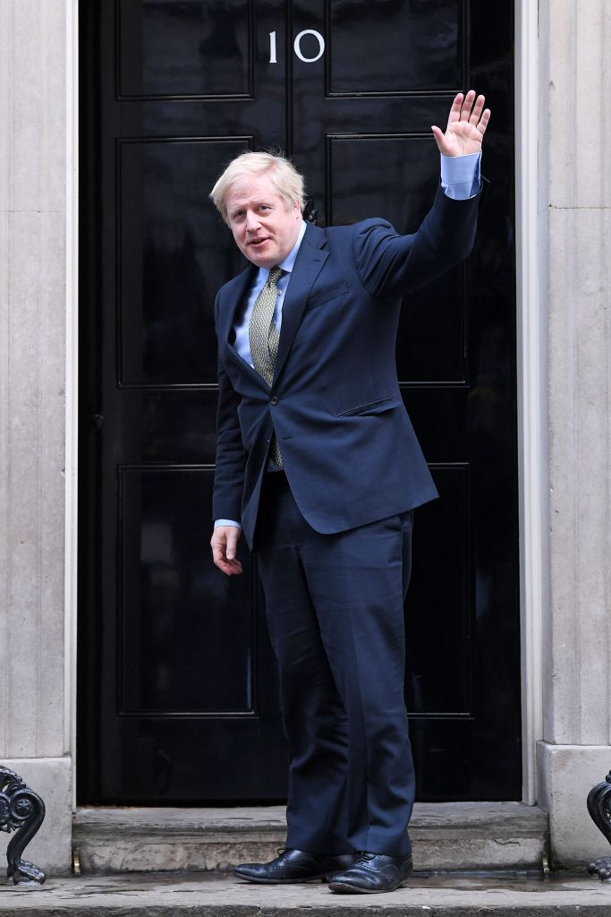 Boris Johnson returns to Number 10 Downing StreetPrime Minister Boris Johnson in Downing Street, London, UK - 13 Dec 2019
